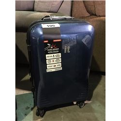 IT  LUGGAGE BLUE SINGLE  SUITCASE