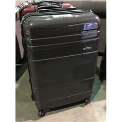 SAMSONITE GREY SINGLE SUITCASE