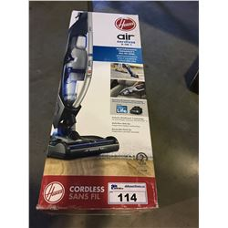 HOOVER AIR CORDLESS  2 IN 1  UPRIGHT VACUUM
