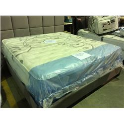 SERTA CARROLLWOOD KING SIZED MATTRESS ( WITH 10 YR FACTORY WARRANTY)