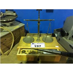 BALANCE BEAM SCALE &  RING SIZER