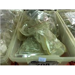 1 CONTAINER FULL OF QUARTZ CRYSTALS