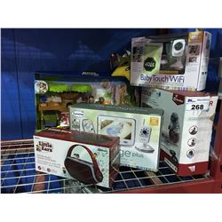 GROUP OF ASSORTED BABY ITEMS & CHILDRENS TOYS
