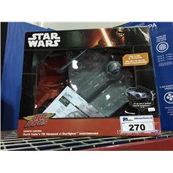 STAR WARS REMOTE CONTROL DARTH VADARS STAR FIGHTER