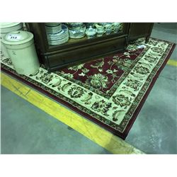 ORIENTAL WEAVERS CONTEMPORARY AREA RUG APPROX  5' X 8'