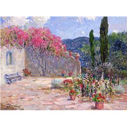 Rod Goebel | Spanish Garden