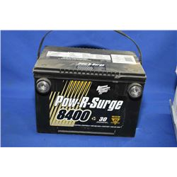 Brand new Pow-R-Surge Advanced Generation Alloy 8400 series 1020CA battery #778MF- AUCTION HOUSE WIL