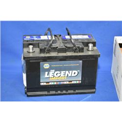 "Brand new Napa ""The Legend Import"" 835CA battery #48-6- AUCTION HOUSE WILL NOT PROVIDE SHIPPING FOR"