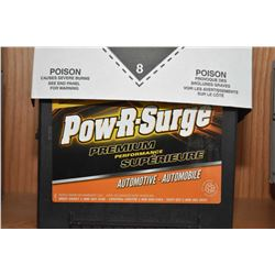 Brand new Pow-R-Surge Premium Perfomance series 6000, 800CA Battery #675DT- AUCTION HOUSE WILL NOT P