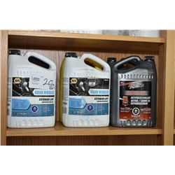 Six assorted 3.78 litre jugs of anti-freeze/coolant including Prestone 50/50 pre-mix, Napa Universal