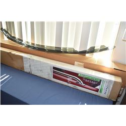 Smoke coloured bug deflector #525912 to fit a GMC pick-up 1999-2007 and a Putco stainless steel lock