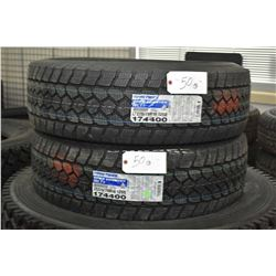 Pair of brand new Toyo WLT 1 Open Country tires LT275-70R18, 125Q, #174400- AUCTION HOUSE WILL NOT P