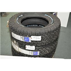 Pair of brand new BF Goodrich All Terrain T/A light truck tires LT275/70R18, #80867, 95-61780- AUCTI