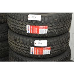 Pair of brand new studded GT Radial model Champiro Ice Pro 2 tires LT 275/65R18- AUCTION HOUSE WILL