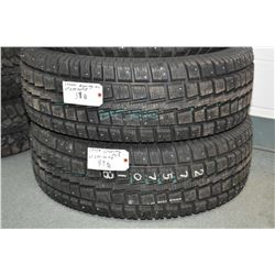 Pair of brand new studded Cooper Discover M+S tires, LT 275/70R18- AUCTION HOUSE WILL NOT PROVIDE SH
