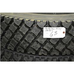 Bridgestone Re-cap M775, 11R 24.5 M+S tire- AUCTION HOUSE WILL NOT PROVIDE SHIPPING FOR THIS ITEM. B
