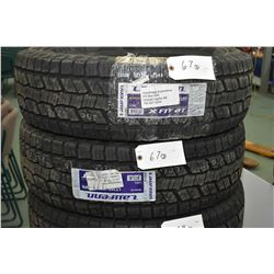Pair of brand new Laufenn X Fit AT tires, #265/70R17 115T- AUCTION HOUSE WILL NOT PROVIDE SHIPPING F