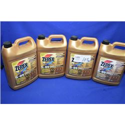 Four 3.78 ltr. jugs of Zerex G-05 anti-freeze/coolant- AUCTION HOUSE WILL NOT PROVIDE SHIPPING FOR T