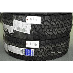 Pair of brand new B.F. Goodrich All-Terrain TA tires, LT275/70R18, #80867- AUCTION HOUSE WILL NOT PR