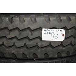 Brand new AEOLUS HN08 tire, 12R22.5- AUCTION HOUSE WILL NOT PROVIDE SHIPPING FOR THIS ITEM. BUYER MA