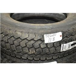Brand new Michelin XTY2 tire, 275/70R22.5- AUCTION HOUSE WILL NOT PROVIDE SHIPPING FOR THIS ITEM. BU