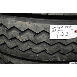 Brand new Uniroyal HS50 tire, 11R22.5- AUCTION HOUSE WILL NOT PROVIDE SHIPPING FOR THIS ITEM. BUYER