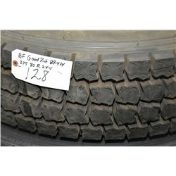 Brand new B.F. Goodrich DR424 tire, 275/80R 22.5 M+S- AUCTION HOUSE WILL NOT PROVIDE SHIPPING FOR TH