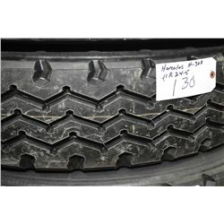 Hercules Re-cap H30 tire, 11R 24.5- AUCTION HOUSE WILL NOT PROVIDE SHIPPING FOR THIS ITEM. BUYER MAY
