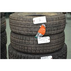 Pair of brand new Cooper Discovery M+S tires, LT235/75R15- AUCTION HOUSE WILL NOT PROVIDE SHIPPING F