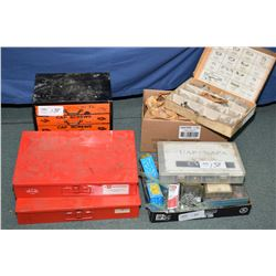 Large selection of shop hardware including hose clamps, castle nuts, O-rings, screws etc.- AUCTION H