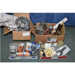 Selection of trailer and trailering supplies including brake control harnesses, full set of backer p