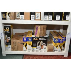 Large selection of Napa air filters including #6573, #6488,#6472 ,#6443, #6416, #6408, #6339 ,#6322