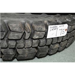 New Toyo Re-cap Hyparadial tire, #1.00 R 20- AUCTION HOUSE WILL NOT PROVIDE SHIPPING FOR THIS ITEM.