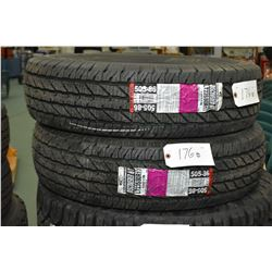 Two brand new Cooper Discover HT tires, #LT235/80R17- AUCTION HOUSE WILL NOT PROVIDE SHIPPING FOR TH
