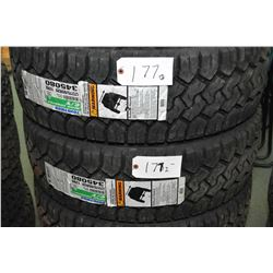 Two brand new Toyo Open Country CT tires, #LT275/65R20- AUCTION HOUSE WILL NOT PROVIDE SHIPPING FOR