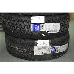 Pair of new B.F Goodrich All-Terrain T/A tires, #LT285/70R17- AUCTION HOUSE WILL NOT PROVIDE SHIPPIN
