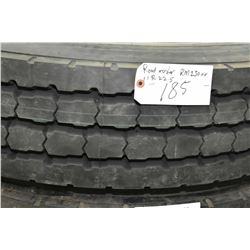 Brand new Roadmaster RM 230 HH tire, #11R22.5- AUCTION HOUSE WILL NOT PROVIDE SHIPPING FOR THIS ITEM