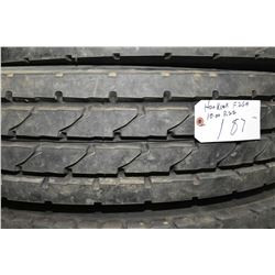 Hankook Re-cap F26A 10R 22 tire- AUCTION HOUSE WILL NOT PROVIDE SHIPPING FOR THIS ITEM. BUYER MAY AR