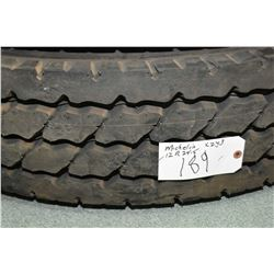 Brand new Michelin XZY3 tire, #12R 24.5- AUCTION HOUSE WILL NOT PROVIDE SHIPPING FOR THIS ITEM. BUYE