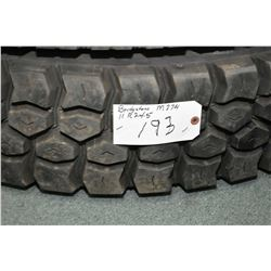 Brand new Bridgestone M774 tire, #11R 24.5- AUCTION HOUSE WILL NOT PROVIDE SHIPPING FOR THIS ITEM. B