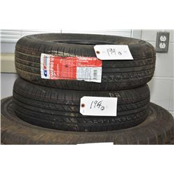 Pair of brand new GT Radial, model Champiro VP1 tires 175/70R13 82T- AUCTION HOUSE WILL NOT PROVIDE