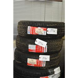 Three brand GT Radial Maxmiler ST tires, #ST 215/75R14- AUCTION HOUSE WILL NOT PROVIDE SHIPPING FOR