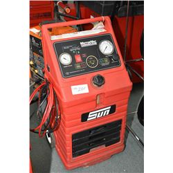 MotorVac Carbonclean system made by SUN with adapters and instruction guide Model #EEFS100C- AUCTION