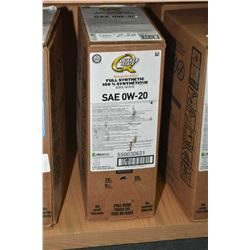 22.7 ltrs. of Quaker State Ultimate Durability, full synthetic 0W-20 motor oil- AUCTION HOUSE WILL N
