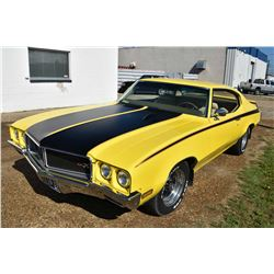 """Beautifully restored saturn yellow """"1970 Buick GSX Tribute car"""" from a 1970 Buick GS. This car was o"""