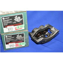 Pair of left and right new Napa inventory disc brake calipers #242-3140 and #242-3141 (retails $109.