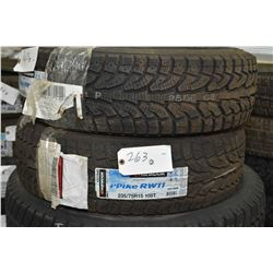 Pair of brand new Hankook I-Pike RW11 tires 235/75R15 105T- AUCTION HOUSE WILL NOT PROVIDE SHIPPING