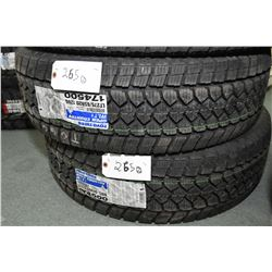 Pair of brand new Toyo Open Country WLT1 tires LT275/65R20 126Q- AUCTION HOUSE WILL NOT PROVIDE SHIP