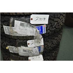 Pair of brand new B.F. Goodrich All Terrain T/A K02 tires, LT225/75R16- AUCTION HOUSE WILL NOT PROVI