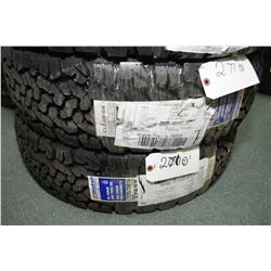 Pair of brand new B.F. Goodrich All Terrain T/A K02 tires- AUCTION HOUSE WILL NOT PROVIDE SHIPPING F